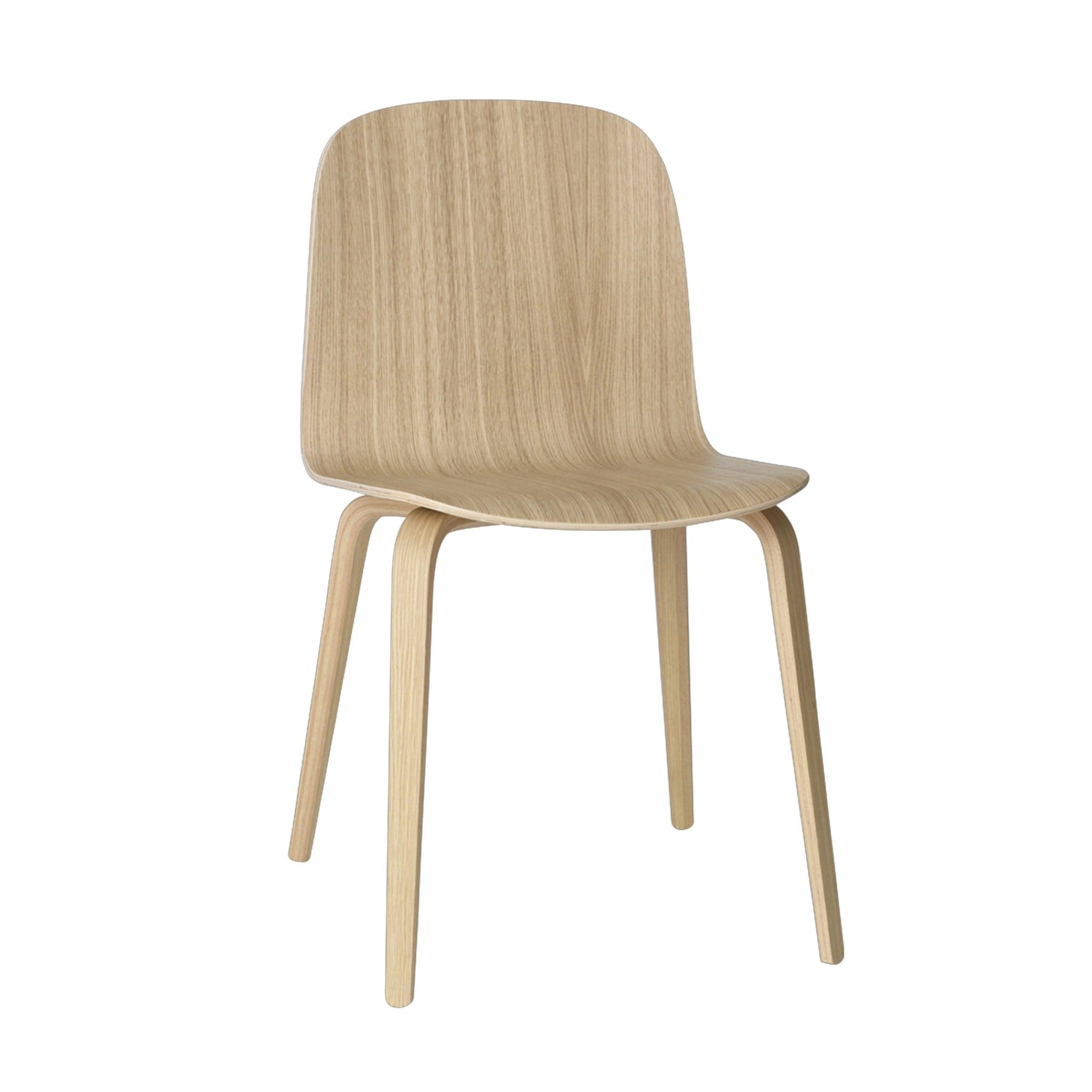 Visu Chair Wooden Frame by Muuto