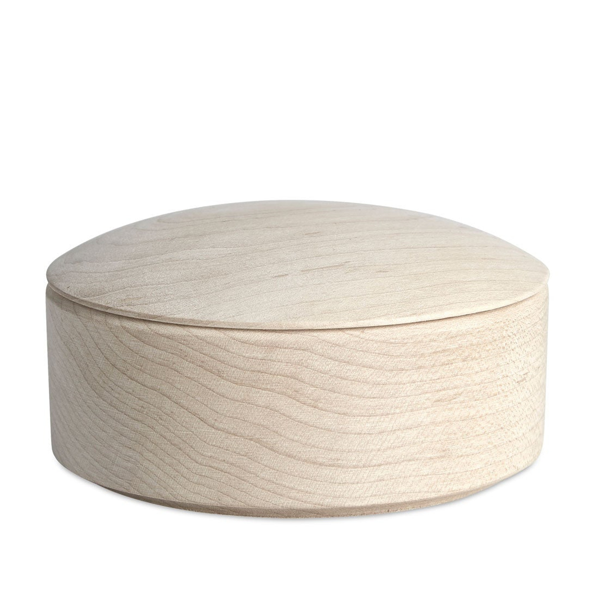 Lens Box Stackable Maple by Thomas Jenkins