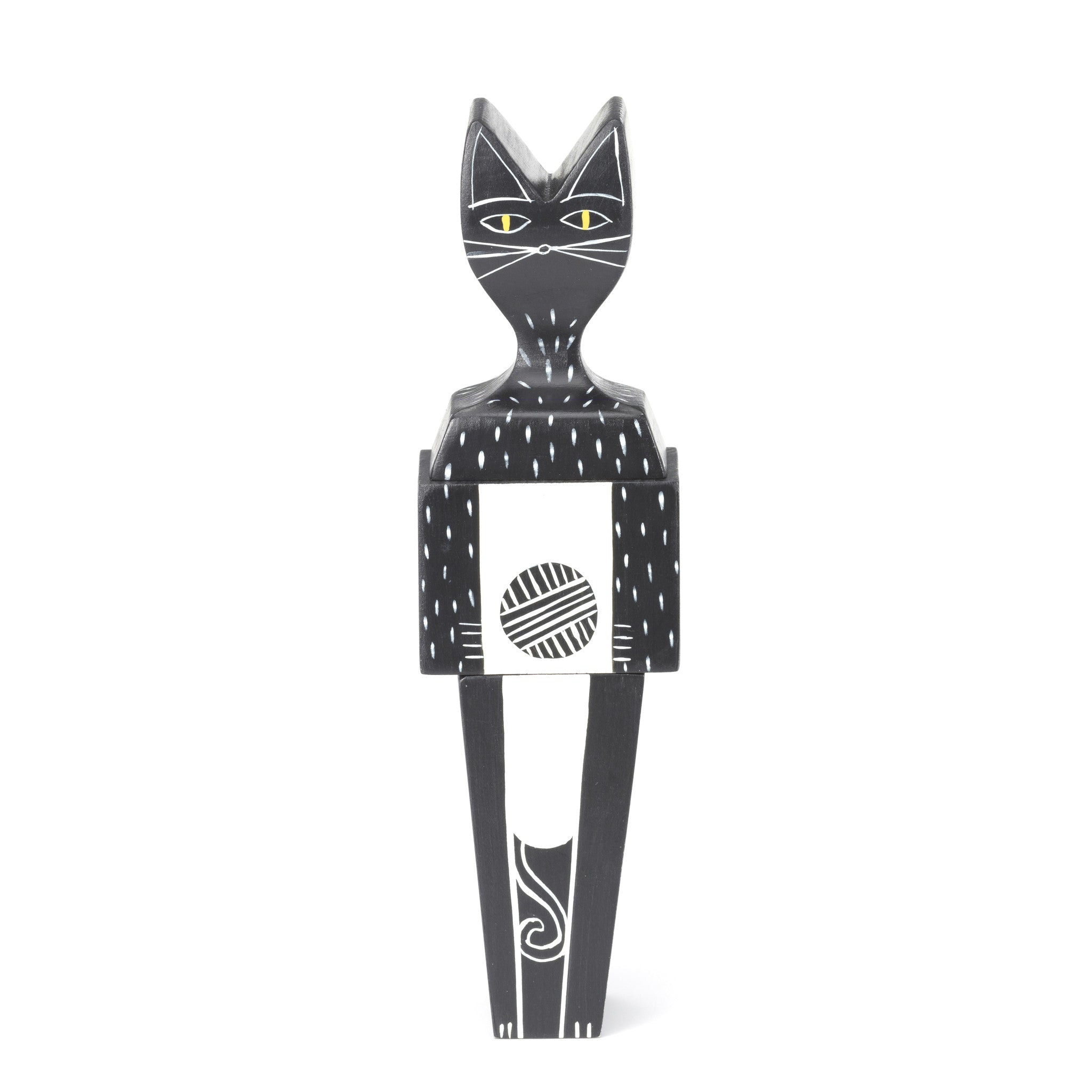 Wooden Cat Doll by Vitra