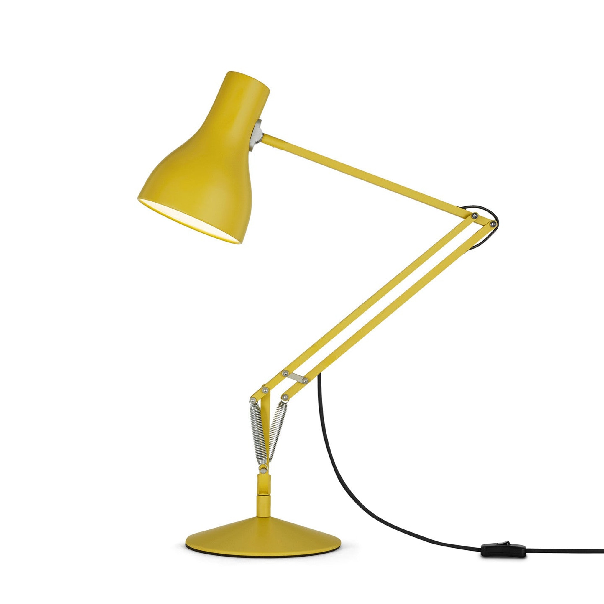 Type 75 Desk Lamp Yellow Ochre Edition by Kenneth Grange