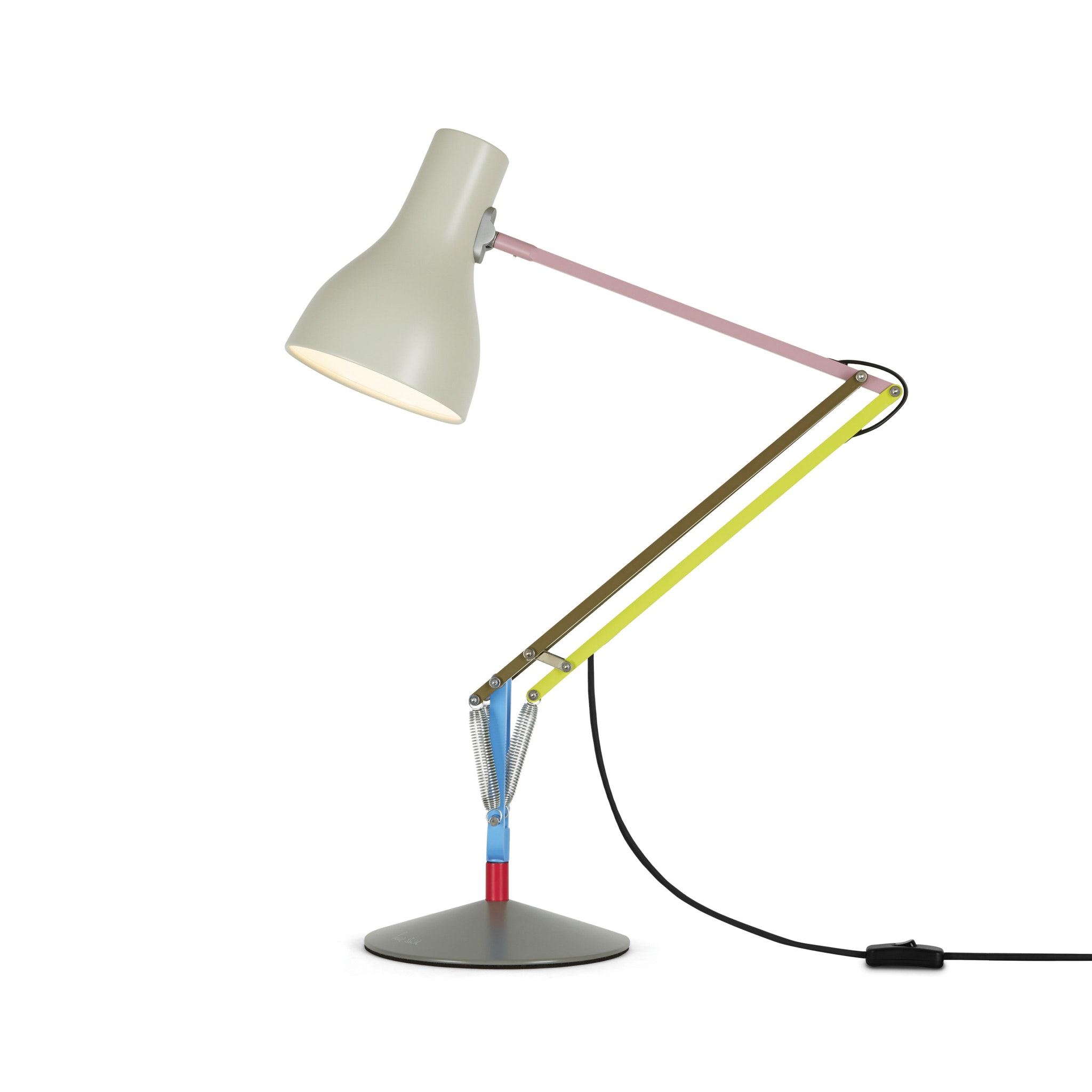 Type 75 Desk Lamp Paul Smith Edition One by Kenneth Grange