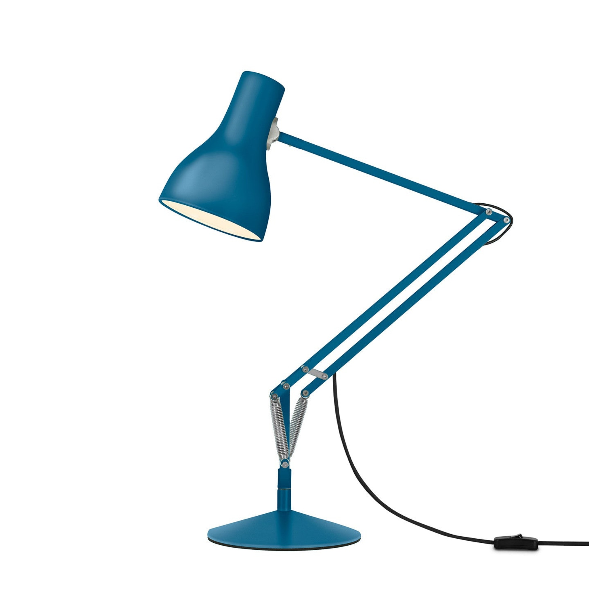 Type 75 Desk Lamp Saxon Blue Edition by Kenneth Grange