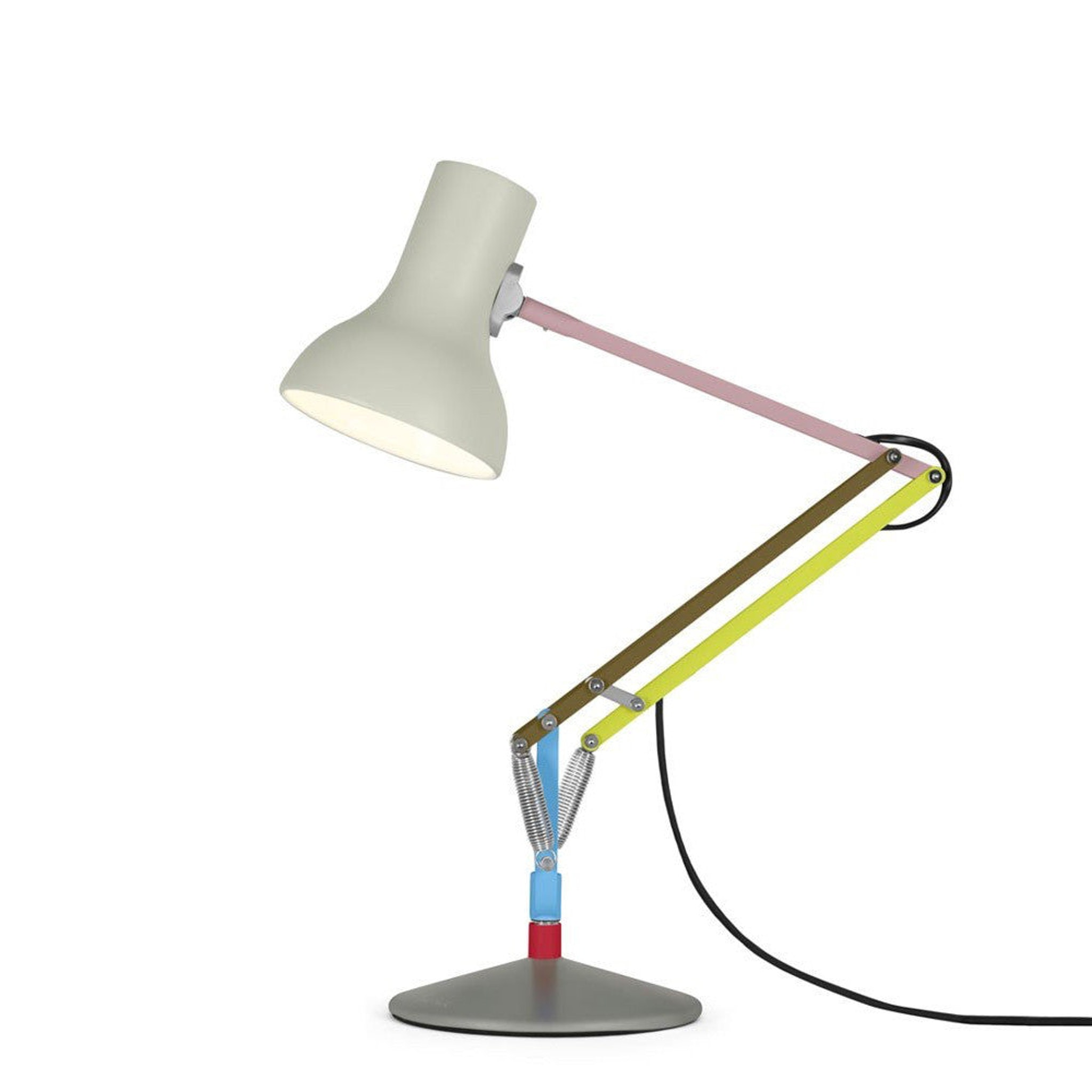 Type 75 Mini Desk Lamp Paul Smith Edition One by Anglepoise