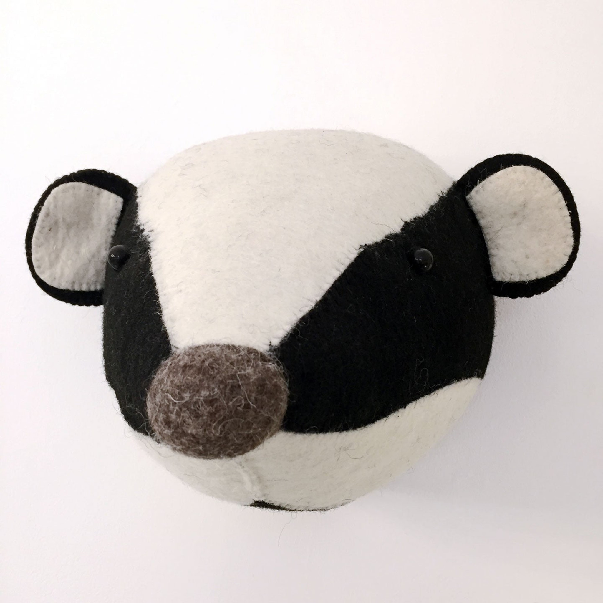 Badger Head by Fiona Walker
