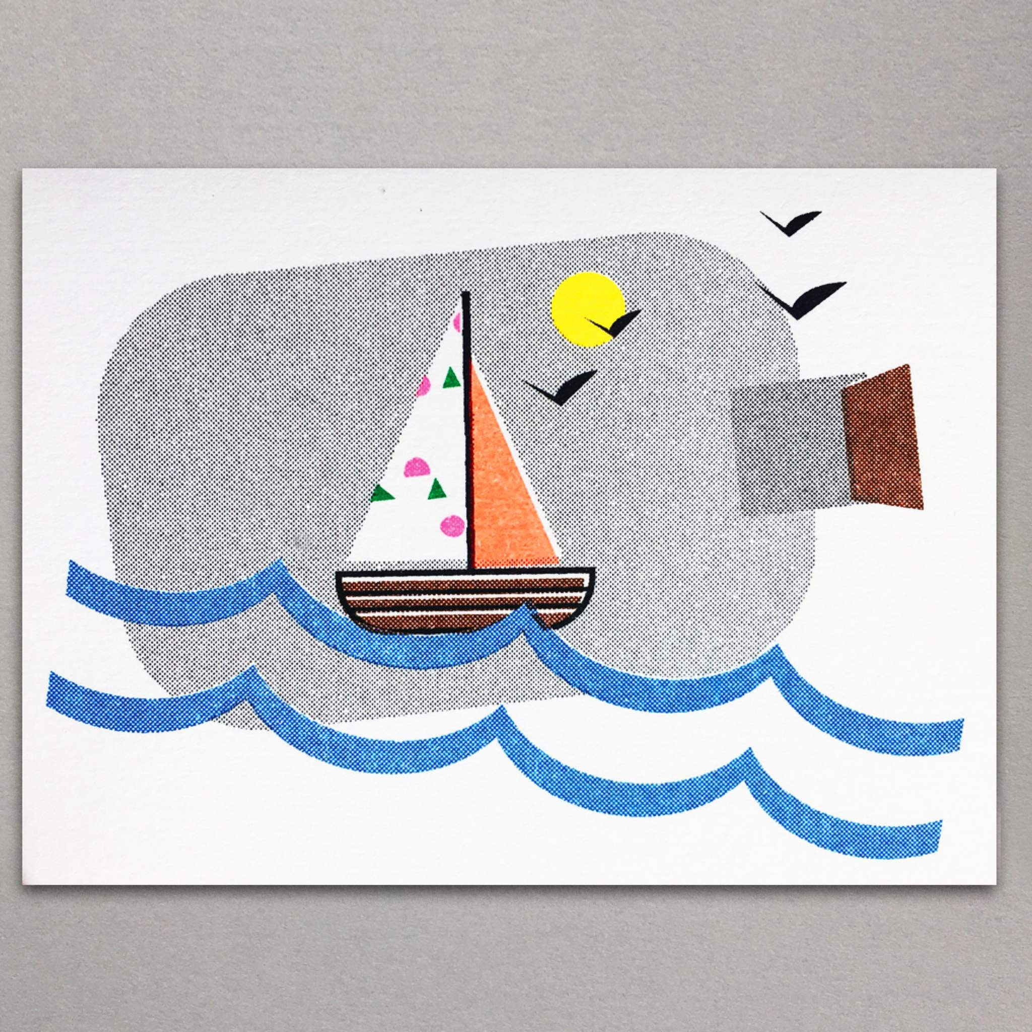 Sailboat Mini Card by Scout Editions