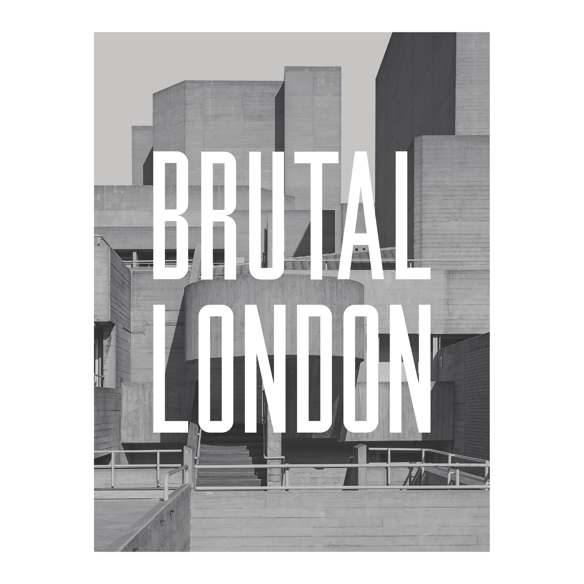 Brutal London Book by Simon Phipps