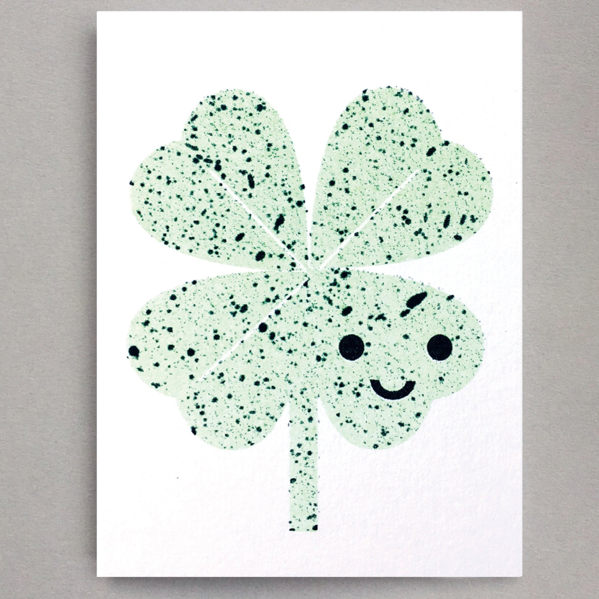 Lucky Clover Mini Card by Scout Editions