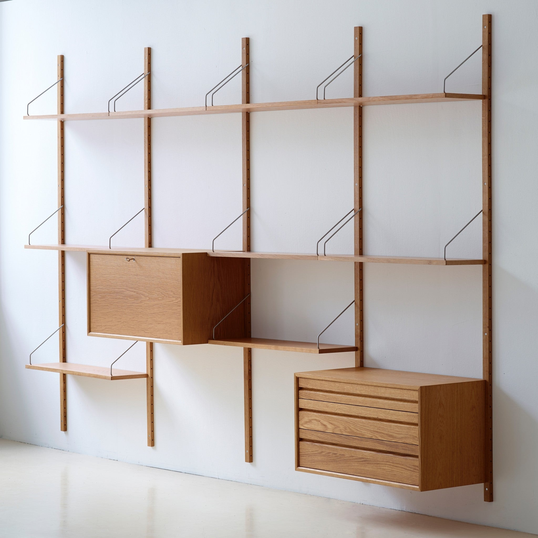 Royal System Shelving by Poul Cadovius