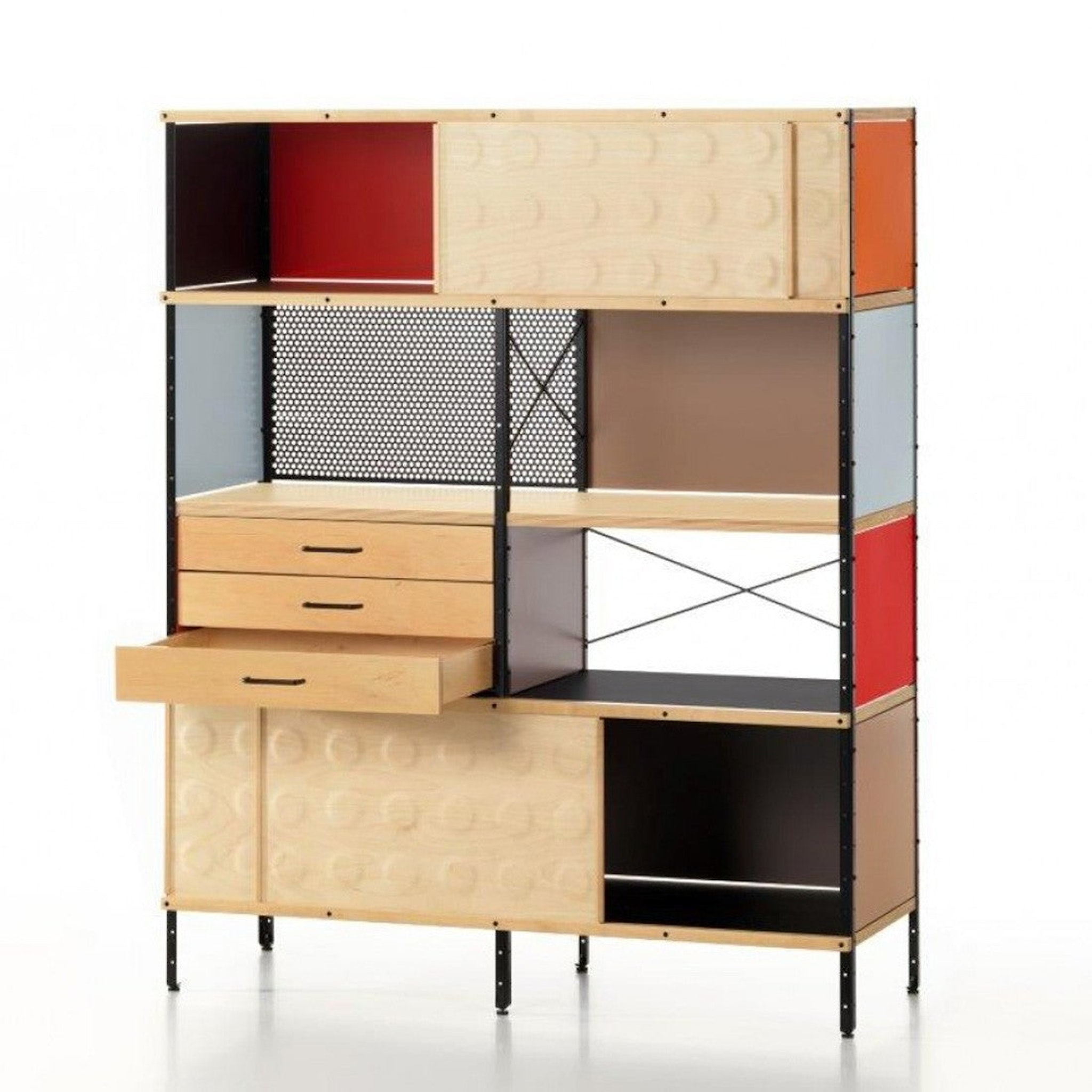 Eames Storage Unit Bookcase by Charles & Ray Eames for Vitra