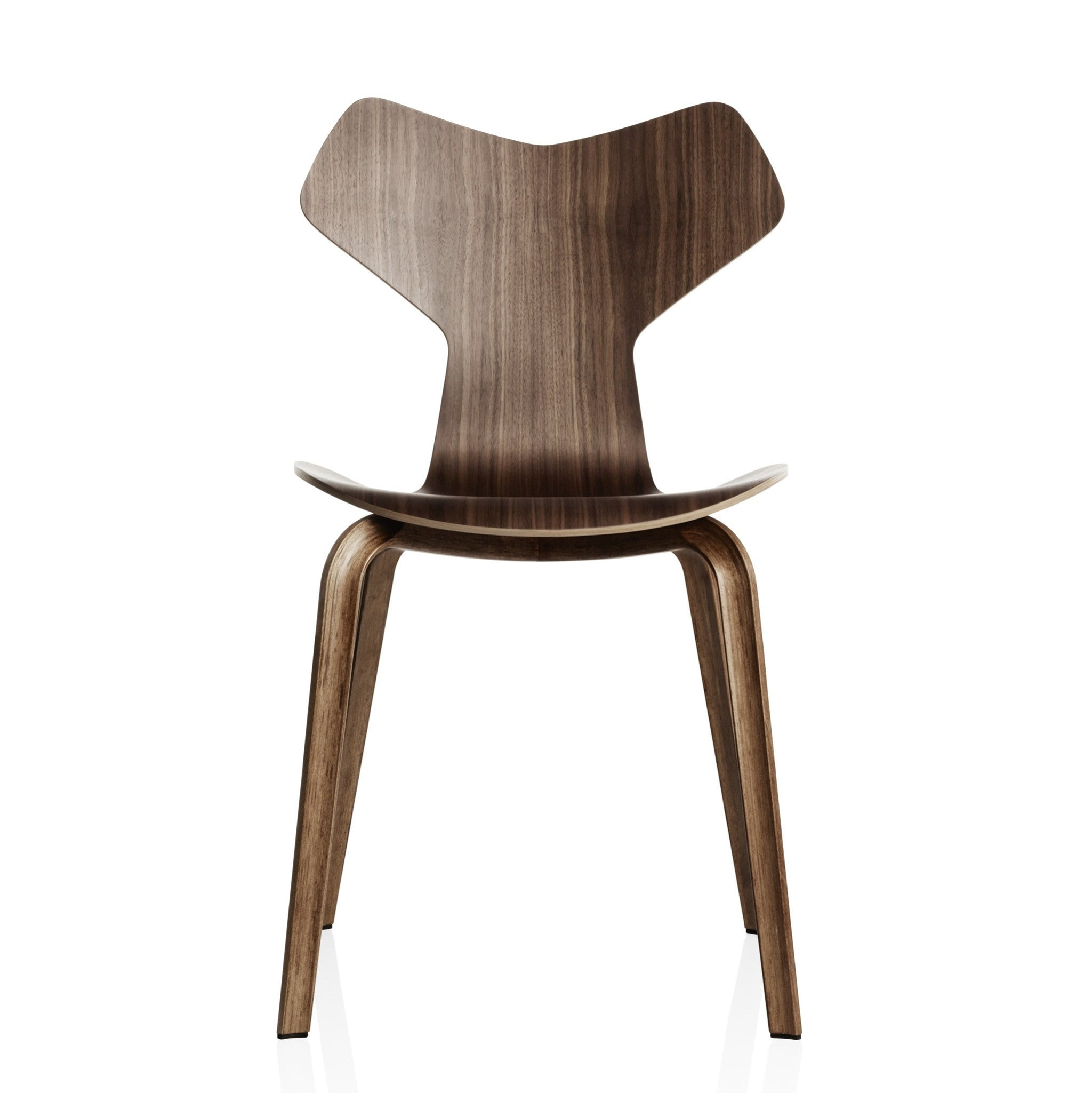 Grand Prix Chair Wooden Base by Arne Jacobsen