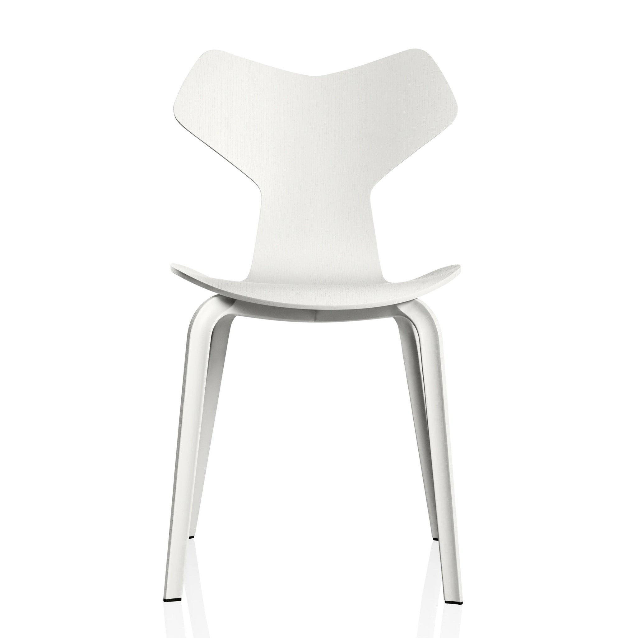 Grand Prix Chair Wooden Base by Fritz Hansen