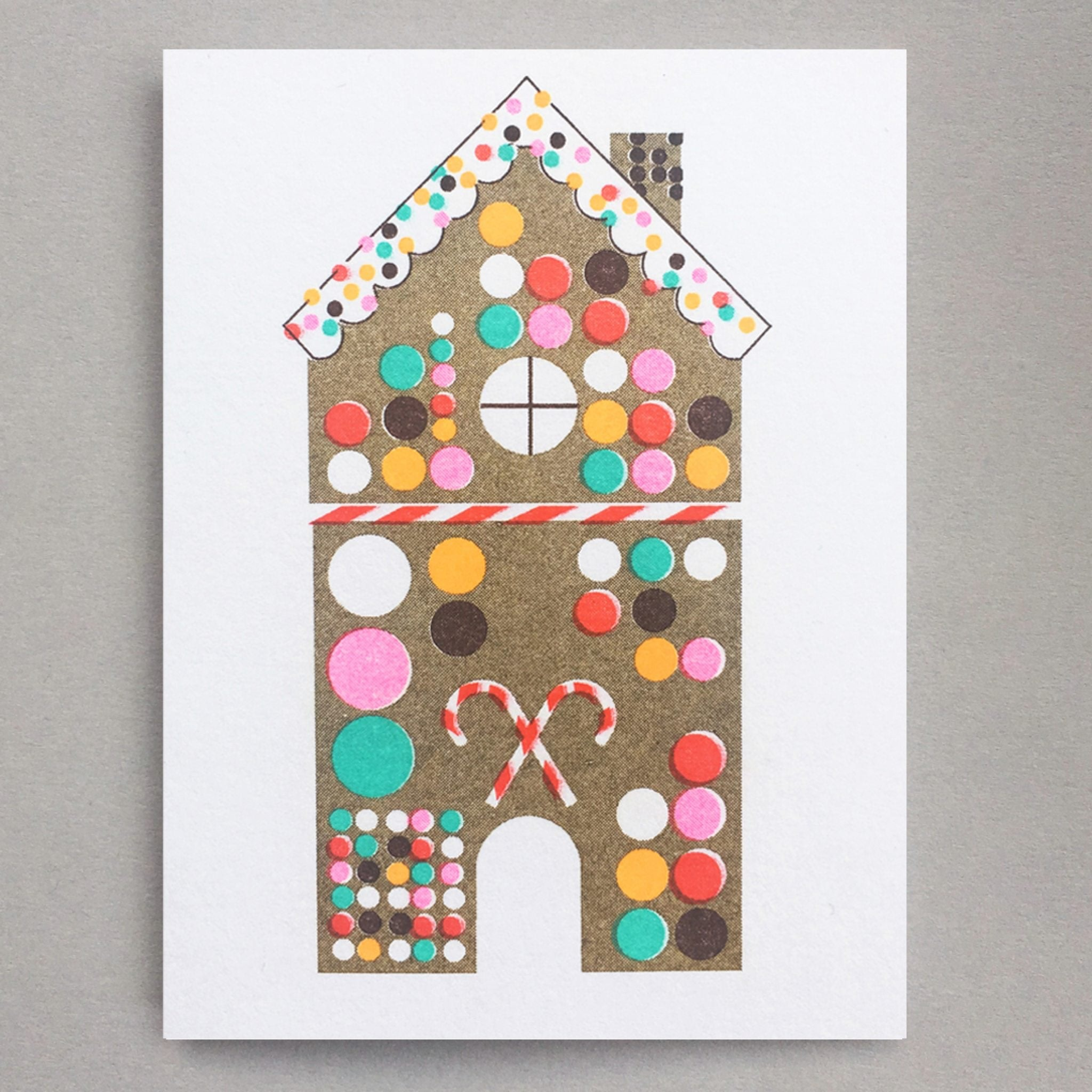 Gingerbread House Mini Card by Scout Editions