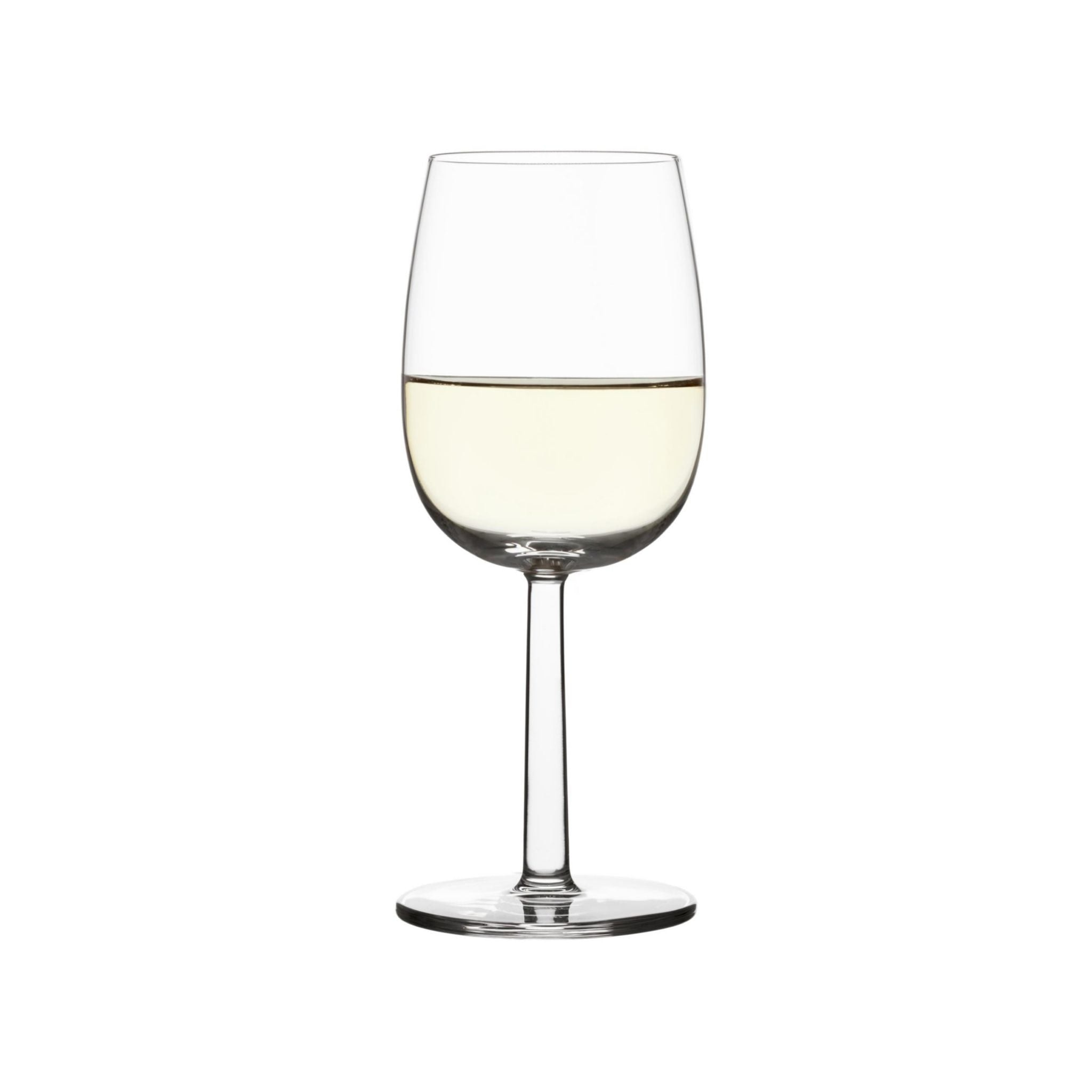 Raami White Wine Glass by Iittala
