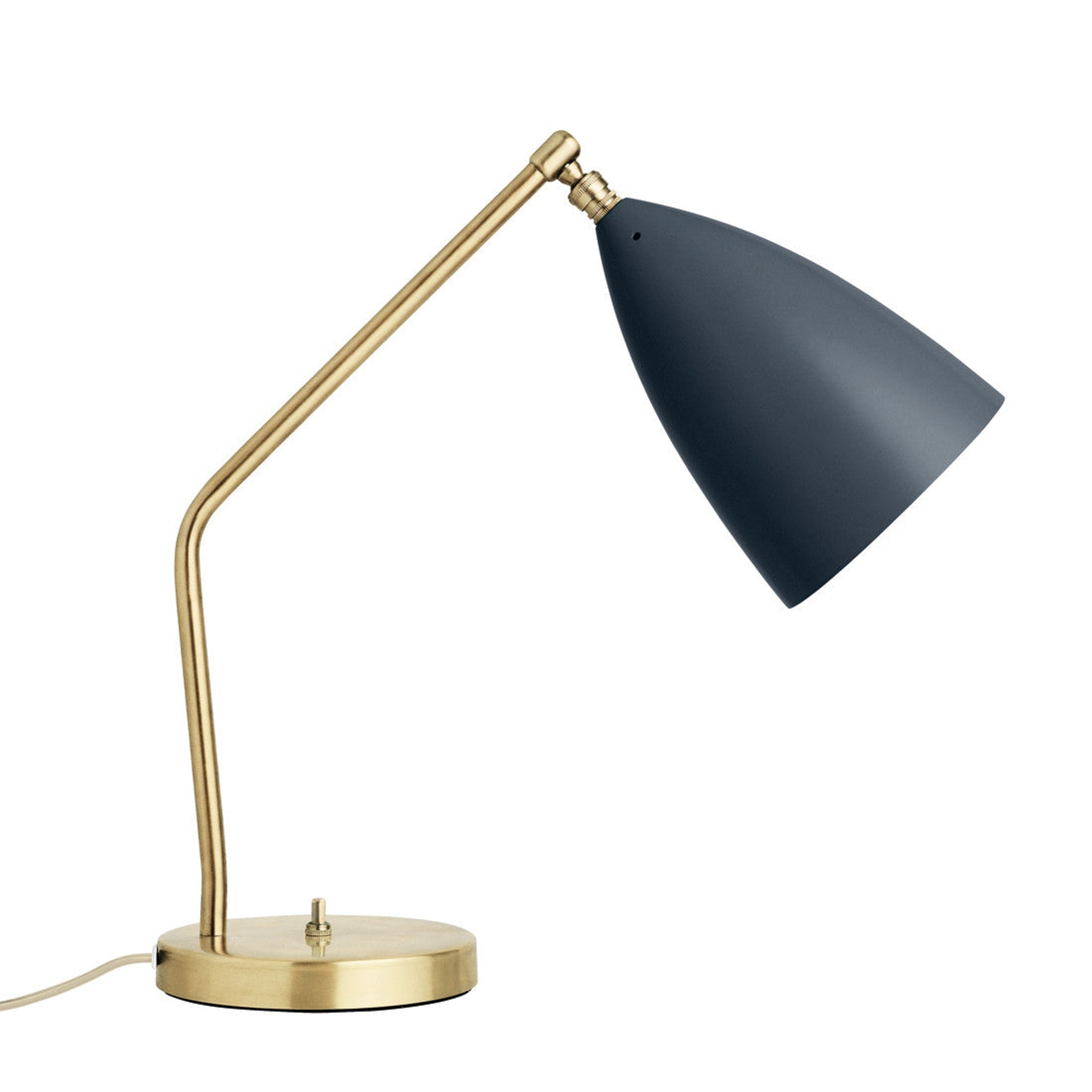 Grasshopper Table Lamp by Greta Grossman