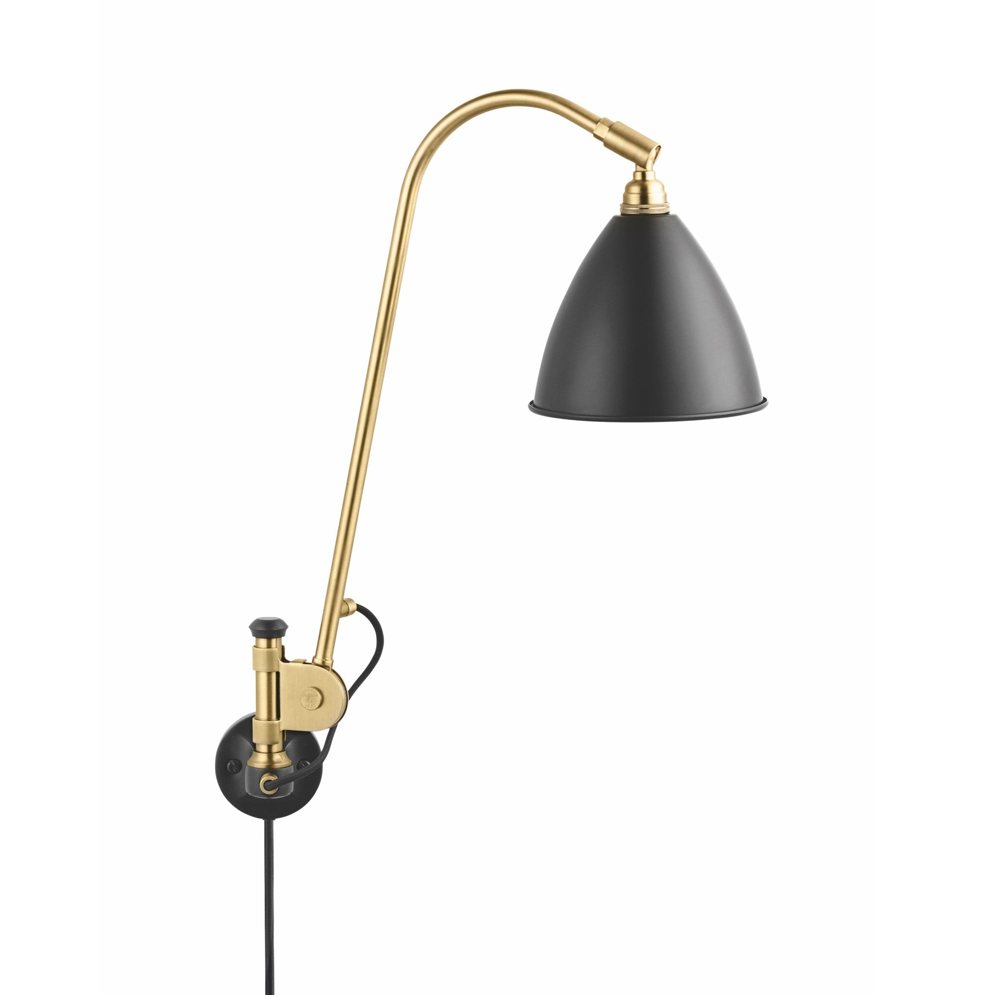Bestlite BL6 Brass with Cable and Switch by Gubi