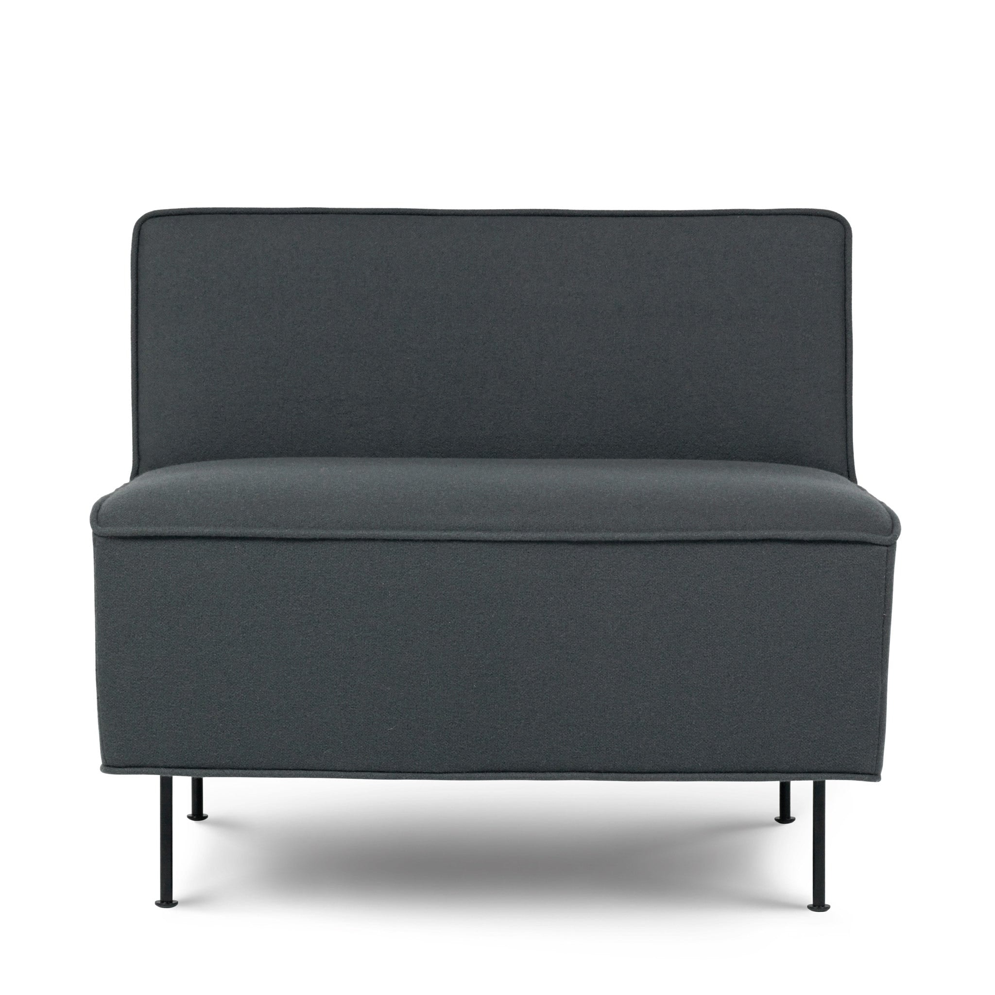 Modern Line Lounge Chair by Gubi