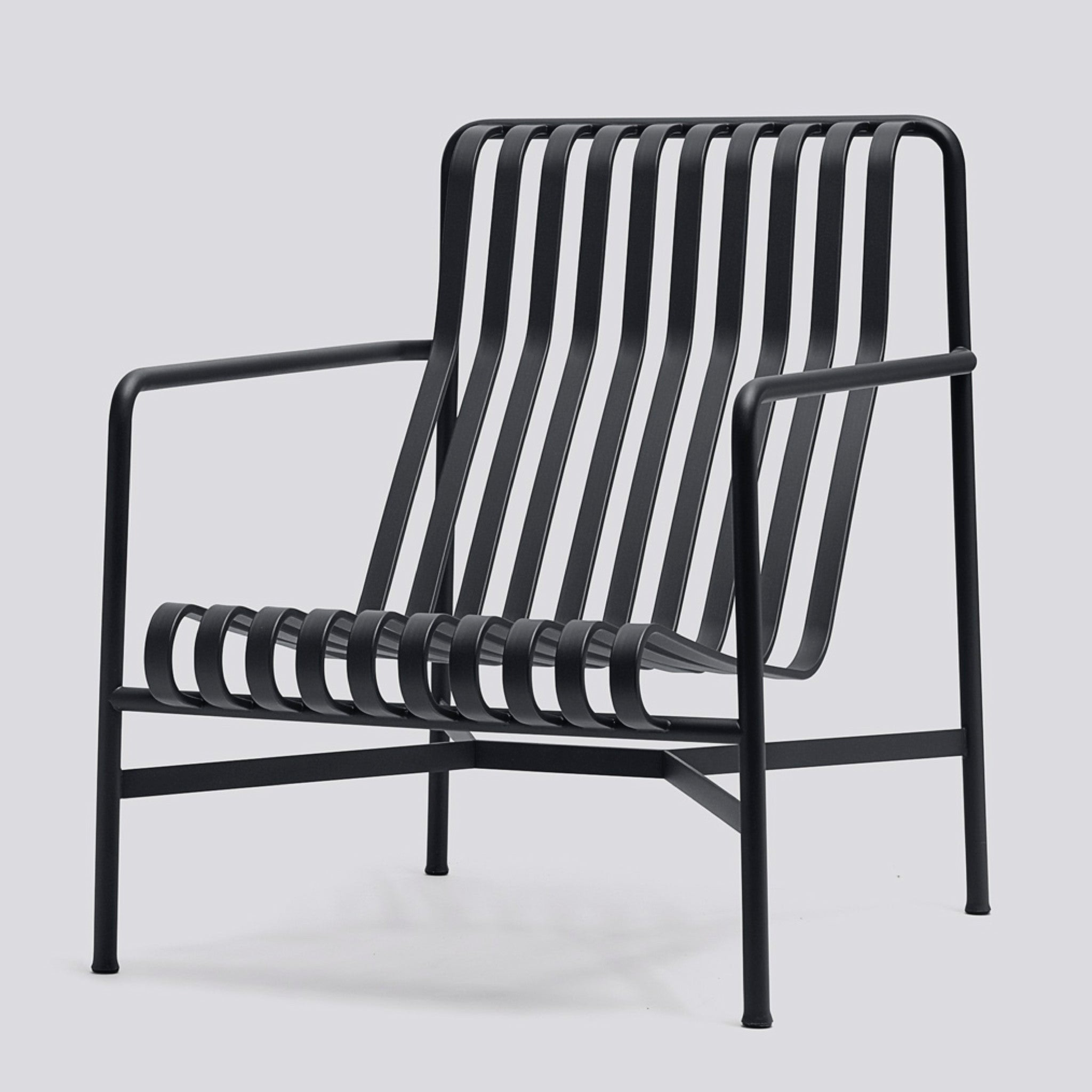 Palissade Lounge Chair High by Hay