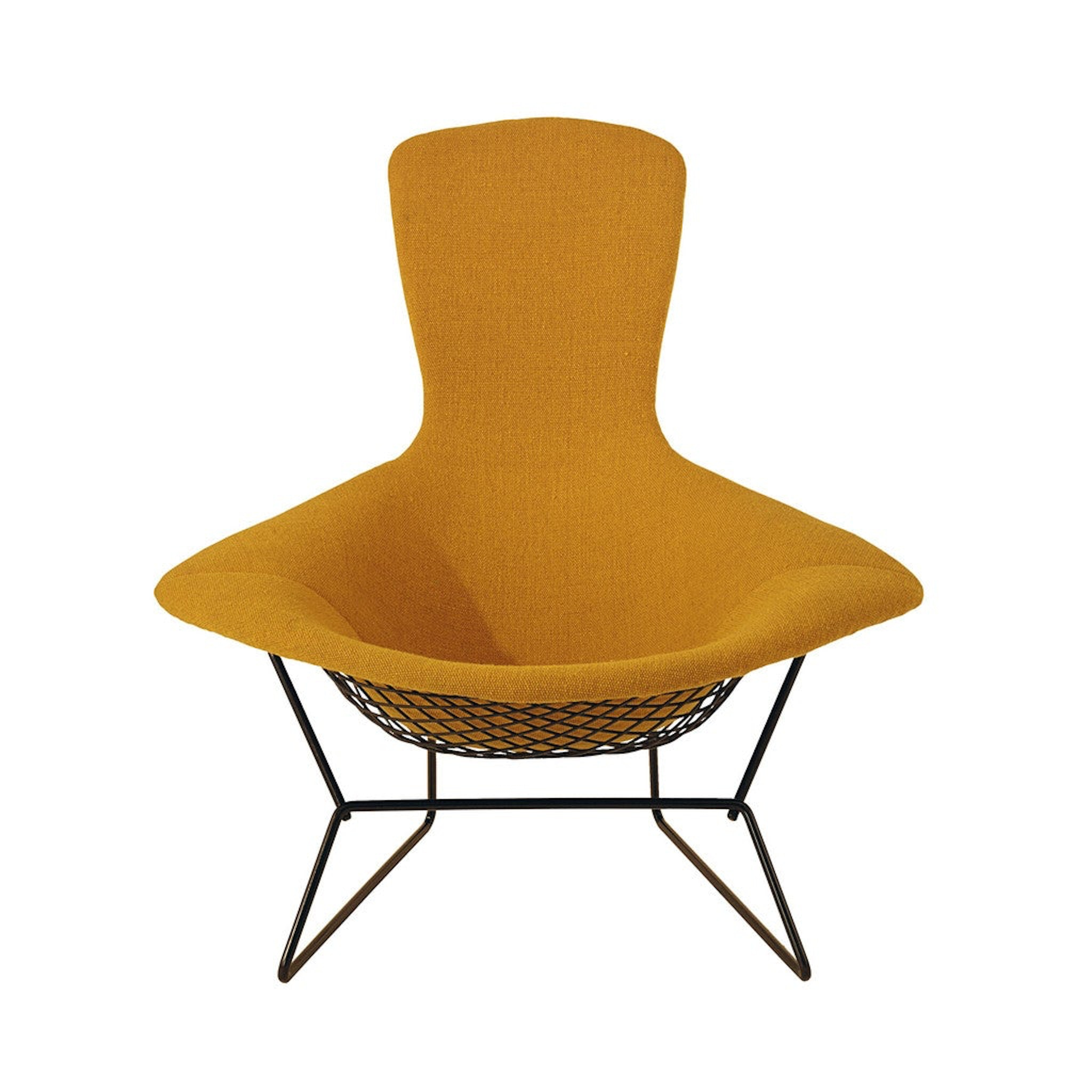 High Back Armchair by Harry Bertoia