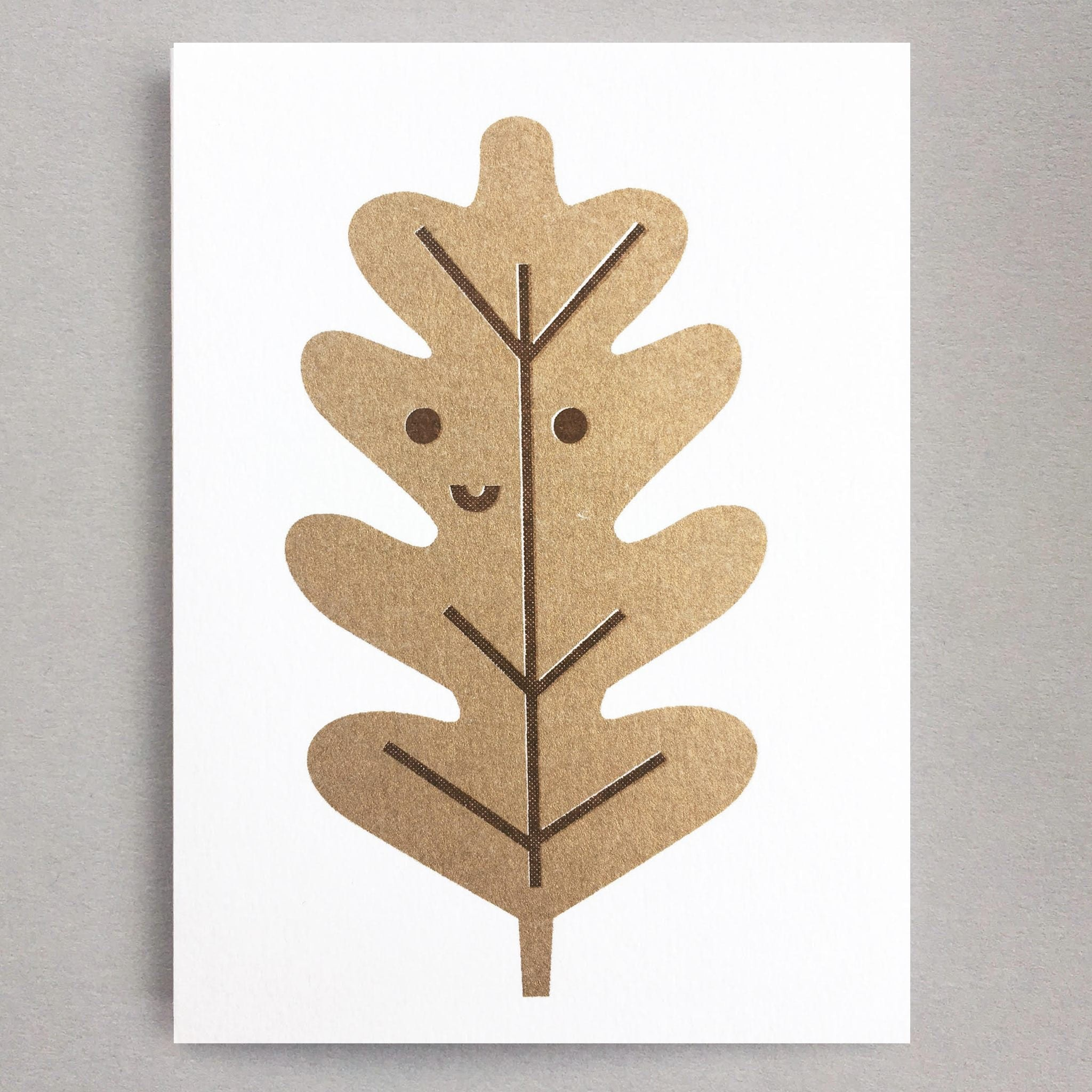 Oak Leaf Mini Card by Scout Editions