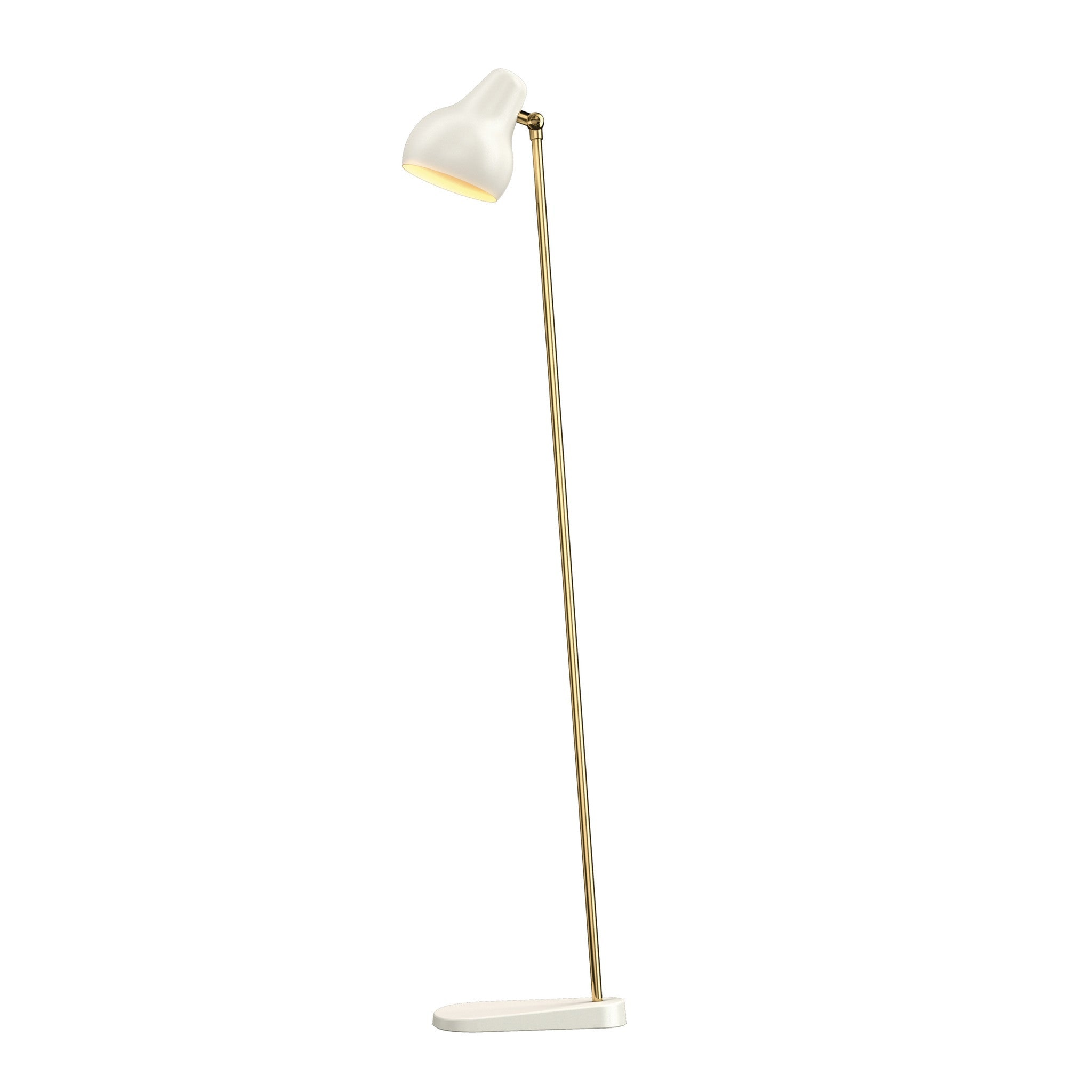 VL38 Floor Lamp White by Louis Poulsen