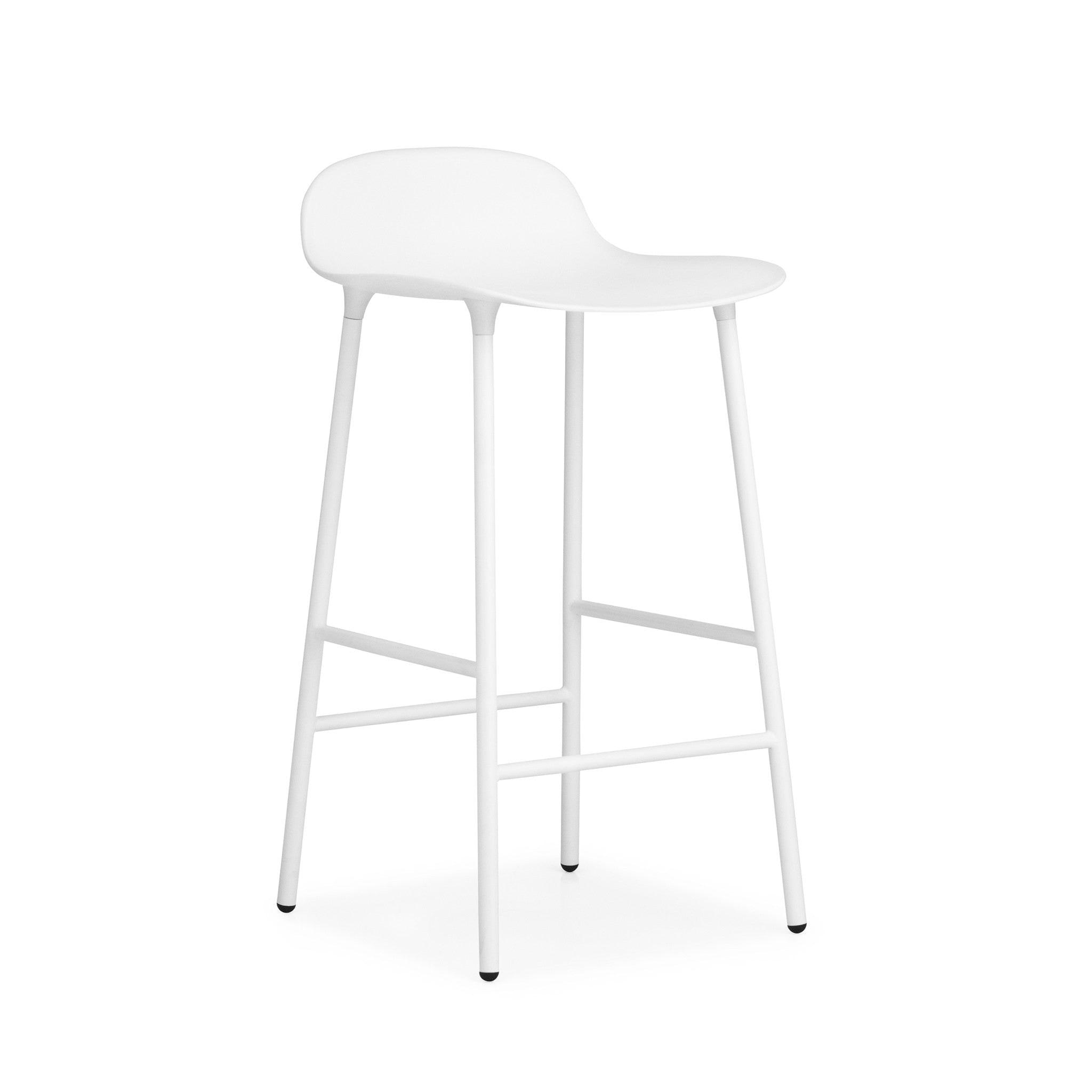 Form Bar Stool with Steel Base by Normann Copenhagen