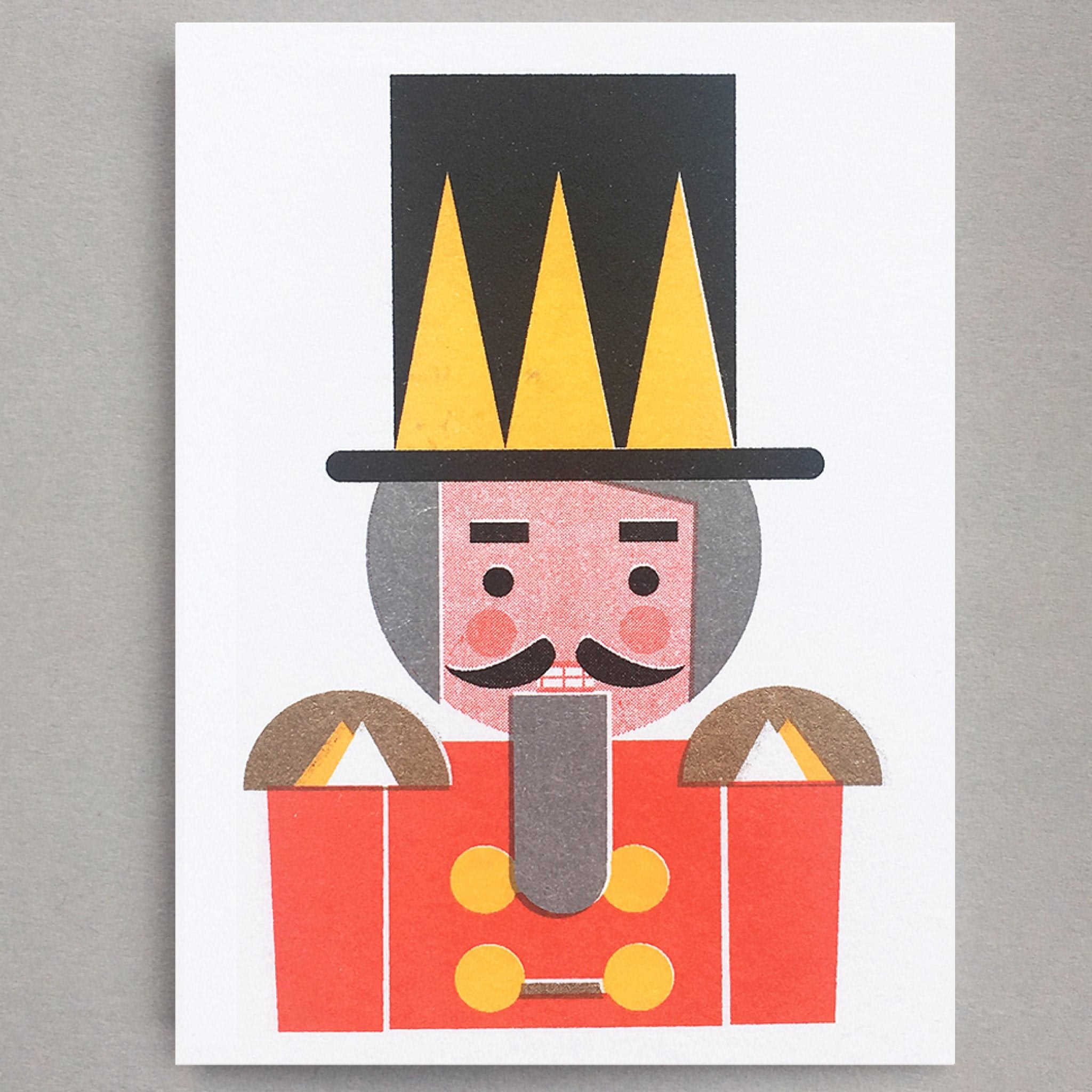 Nutcracker Mini Card by Scout Editions
