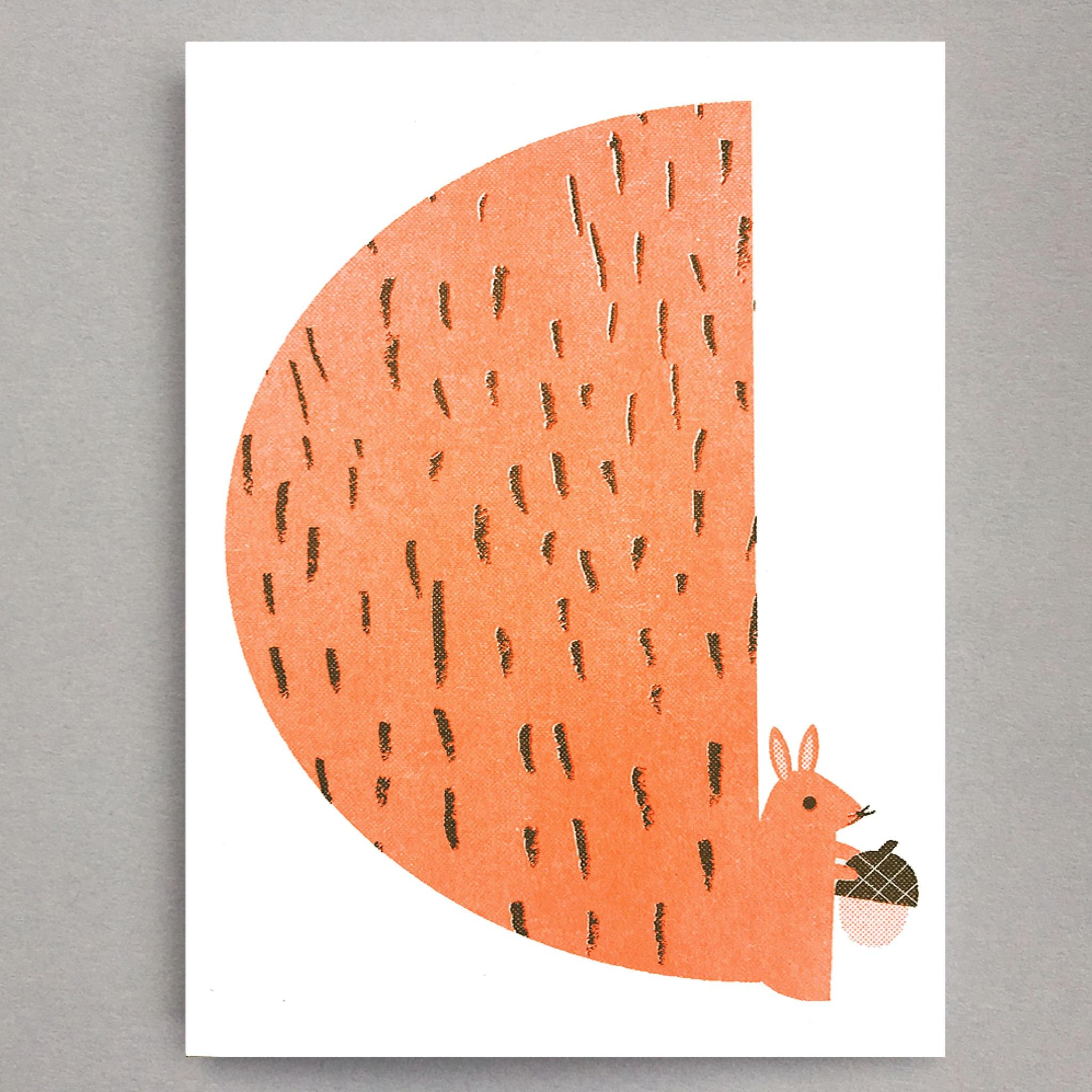 Squirrel Mini Card by Scout Editions