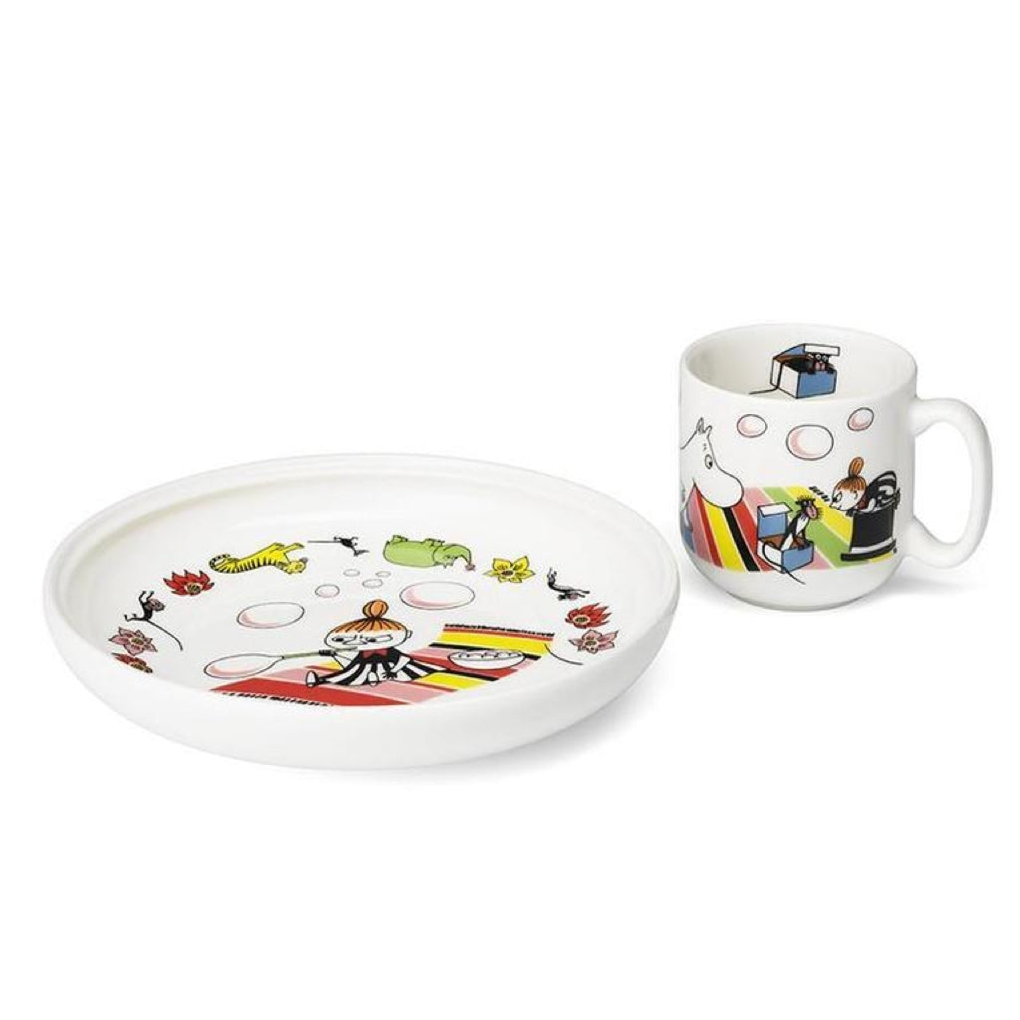 Moomin Children's Set Little My by Arabia