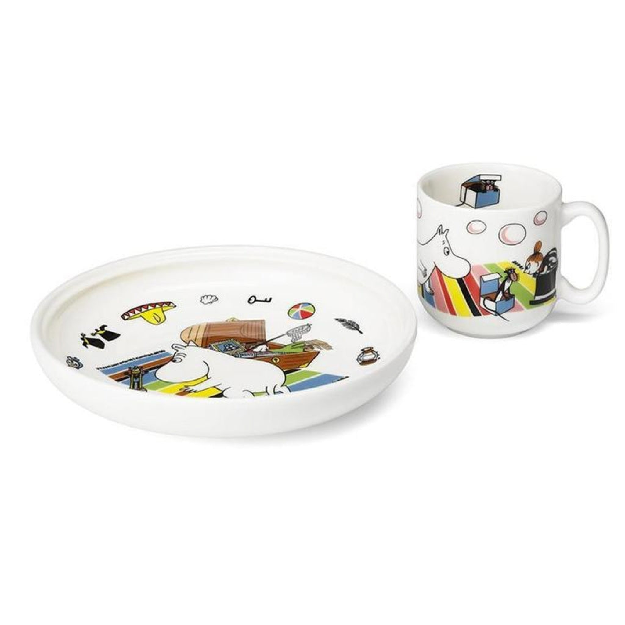 Moomin Children's Set Moomintroll by Arabia