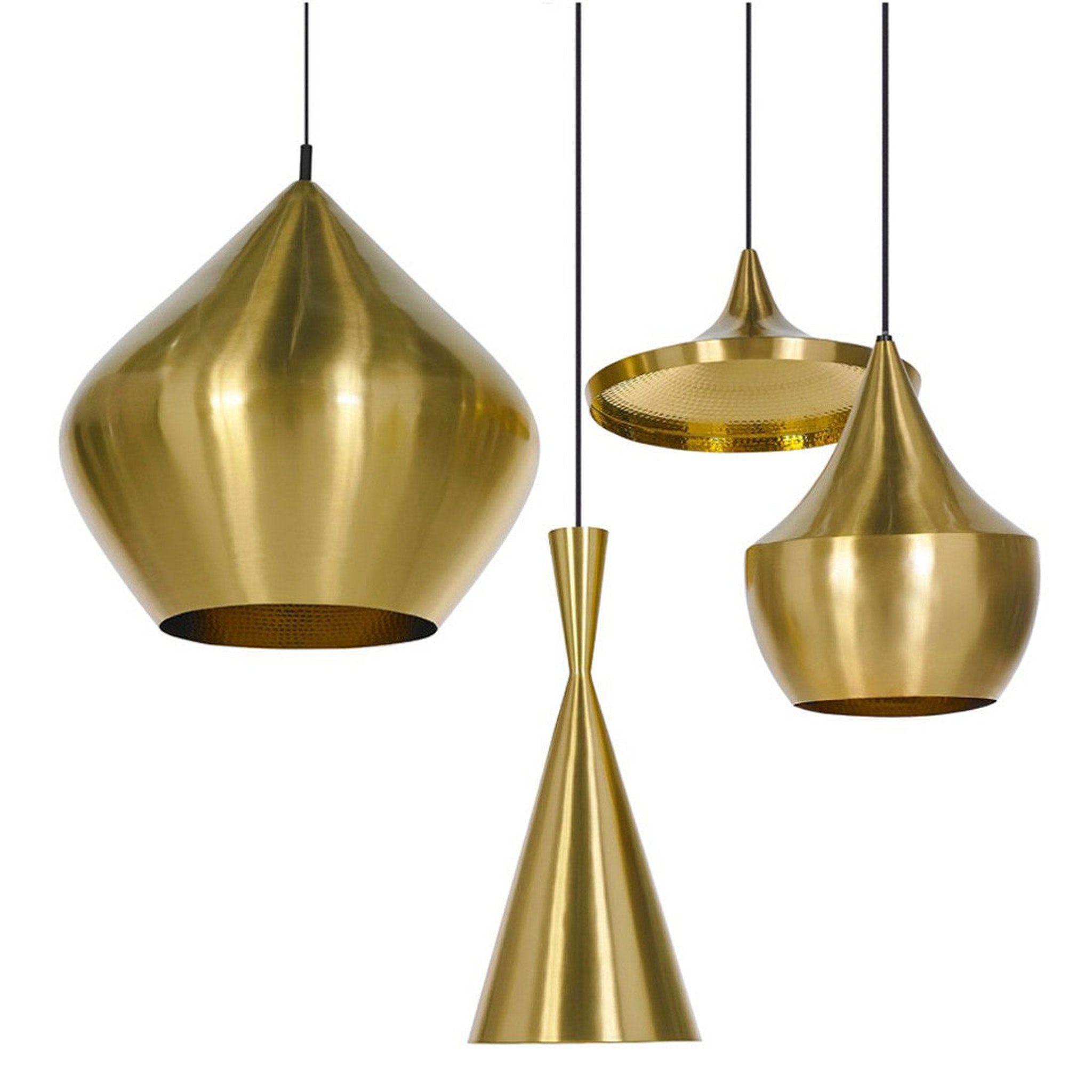 Beat Light Brass by Tom Dixon