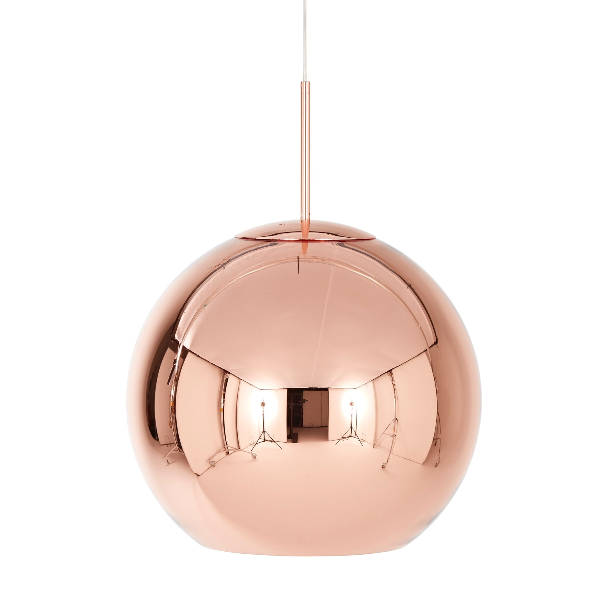 Copper Shade Round Pendant by Tom Dixon