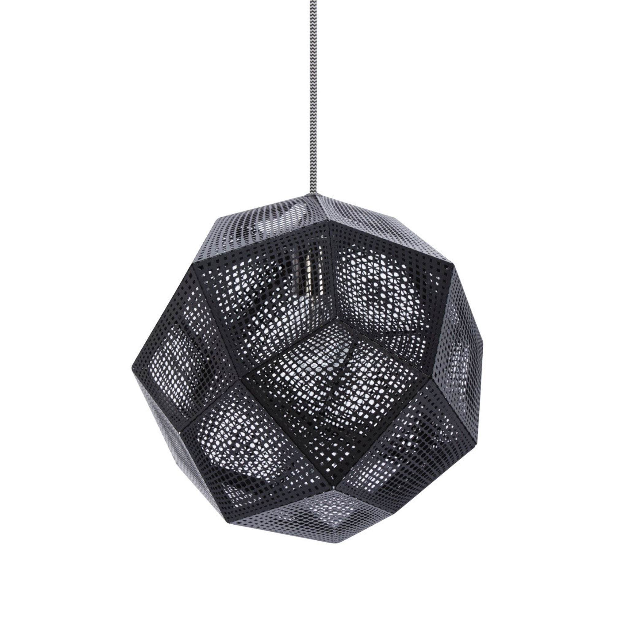 Etch Light Black by Tom Dixon