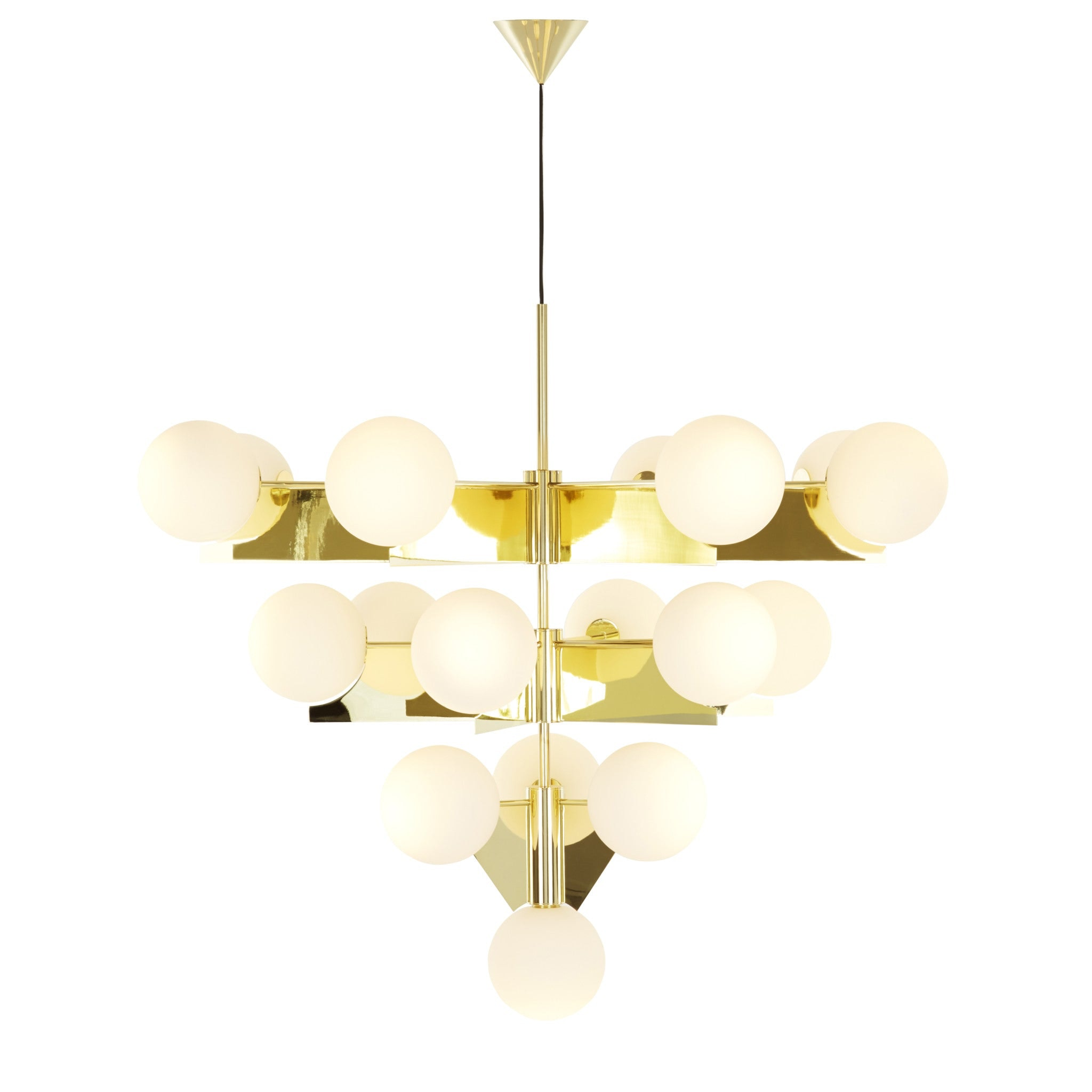 Plane Chandelier by Tom Dixon