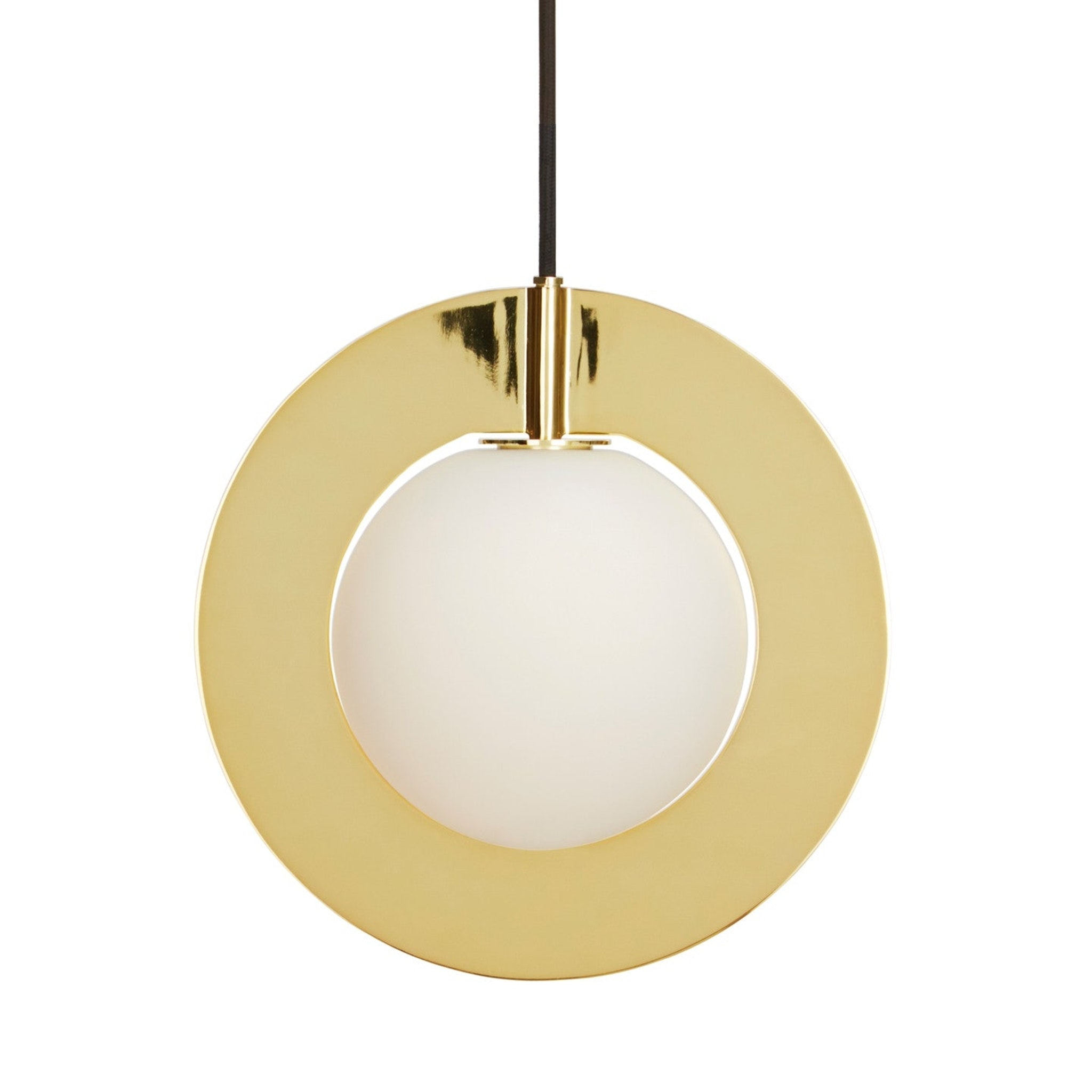 Plane Round Pendant by Tom Dixon