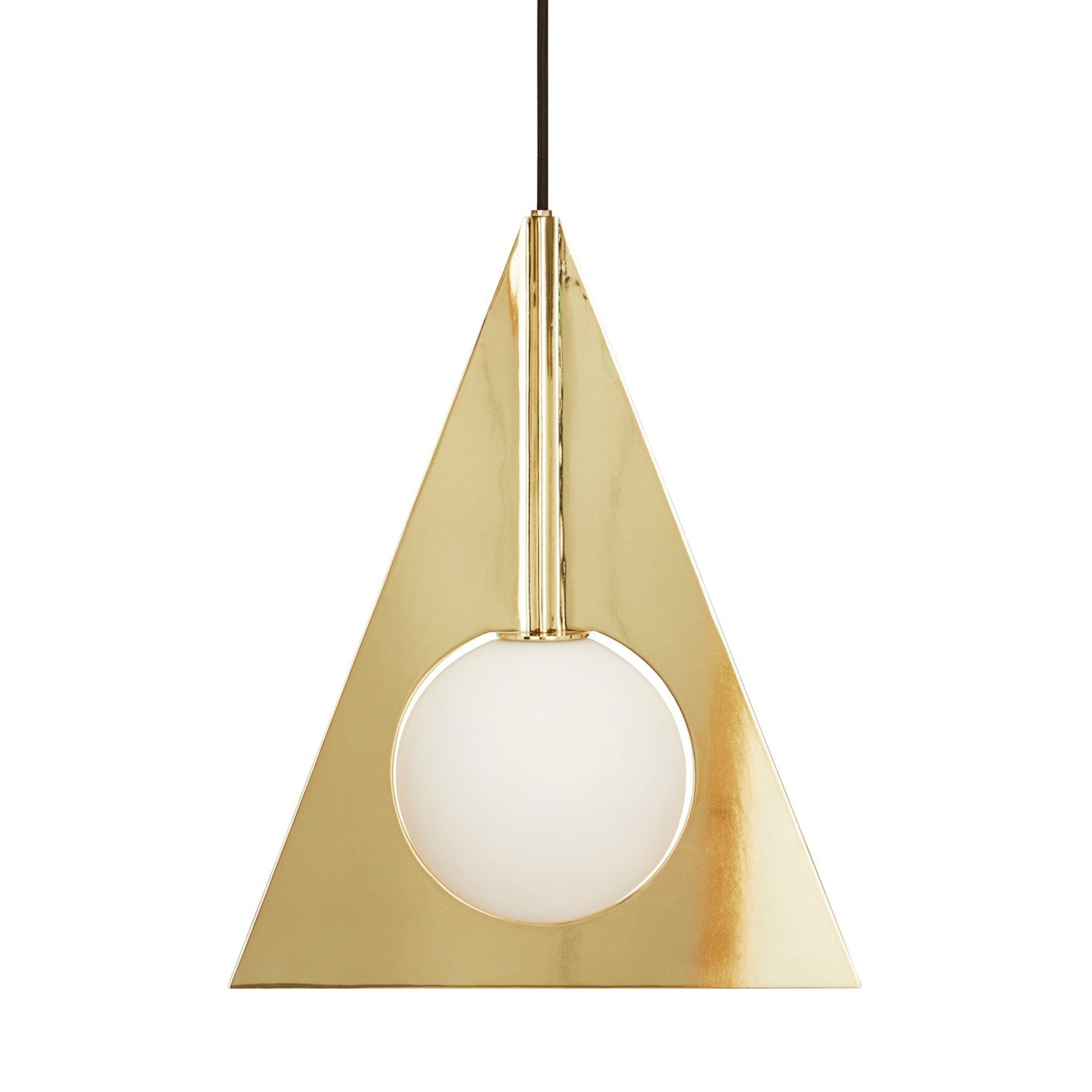 Plane Triangle Pendant by Tom Dixon