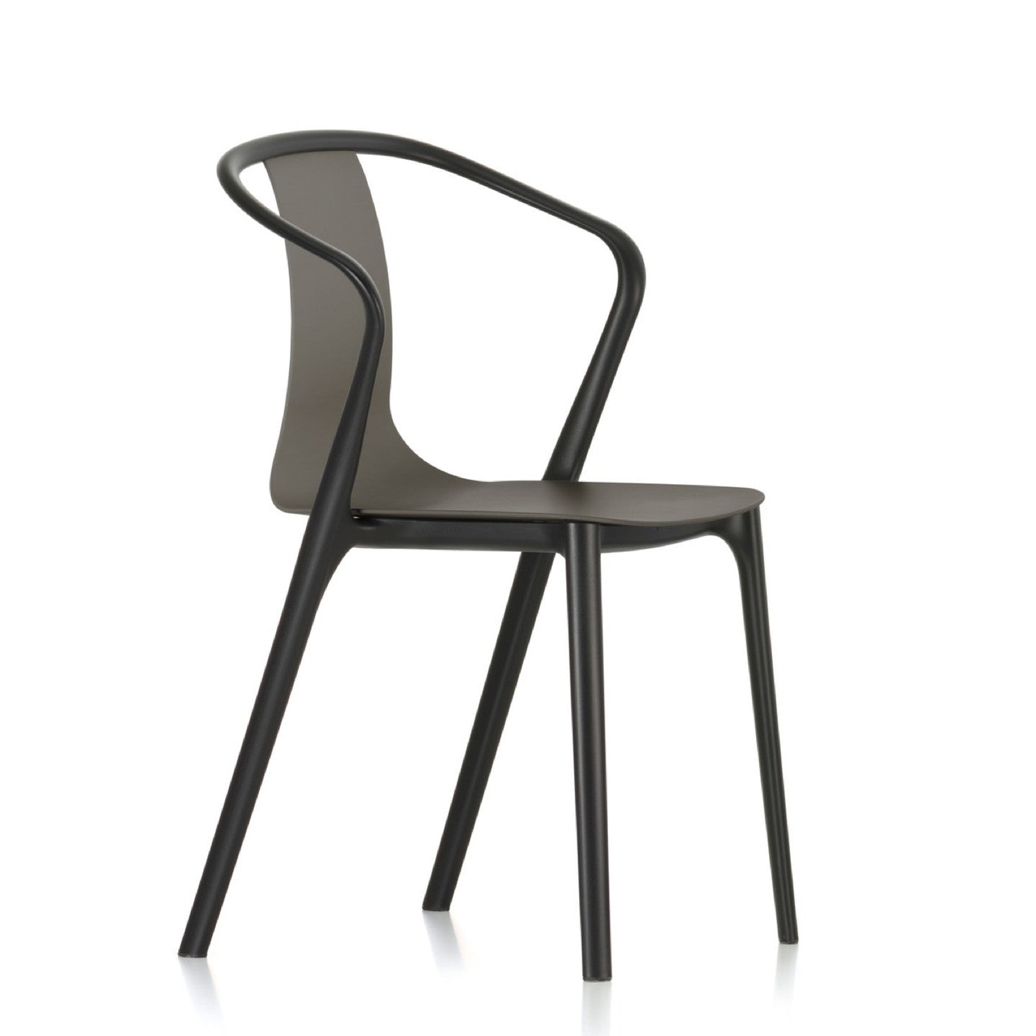 Belleville Armchair Plastic by Vitra