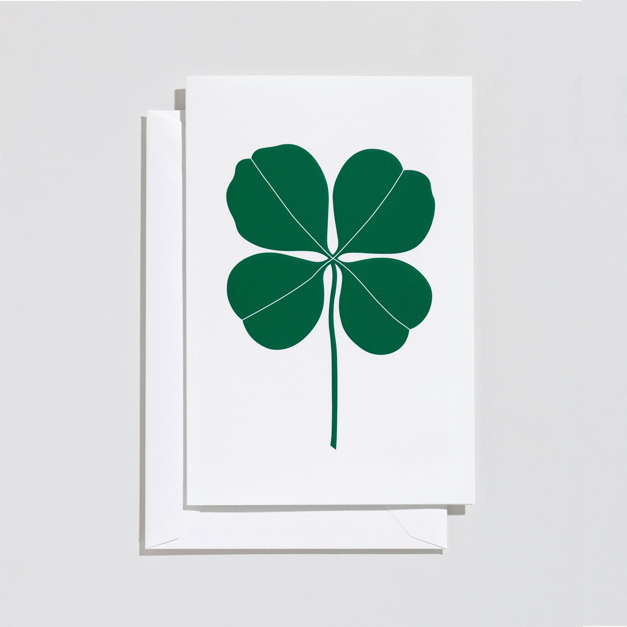 Four Leaf Clover Card By Alexander Girard Haus