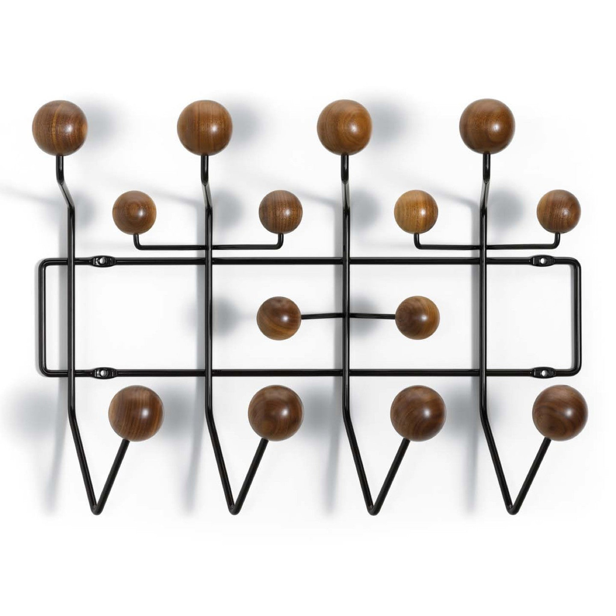 Hang it All Walnut by Charles and Ray Eames
